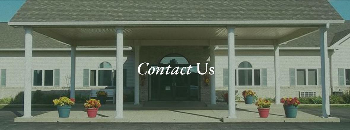 Banner for Contact Us page for Eastland Independent and Assisted Senior Living